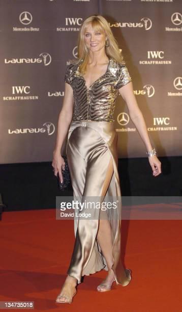 Joely Richardson during Vogue Party Portugal Arrivals at Estalagem Farol Design Hotel in Estoril Portugal