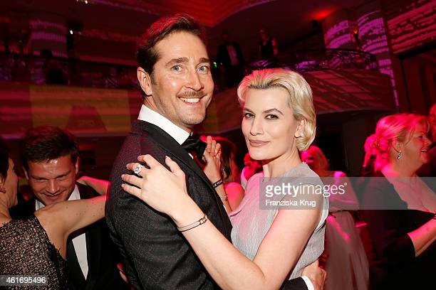 Joerg Oppermann and Kriemhild Siegel attend the German Film Ball 2015 on January 17 2015 in Munich Germany