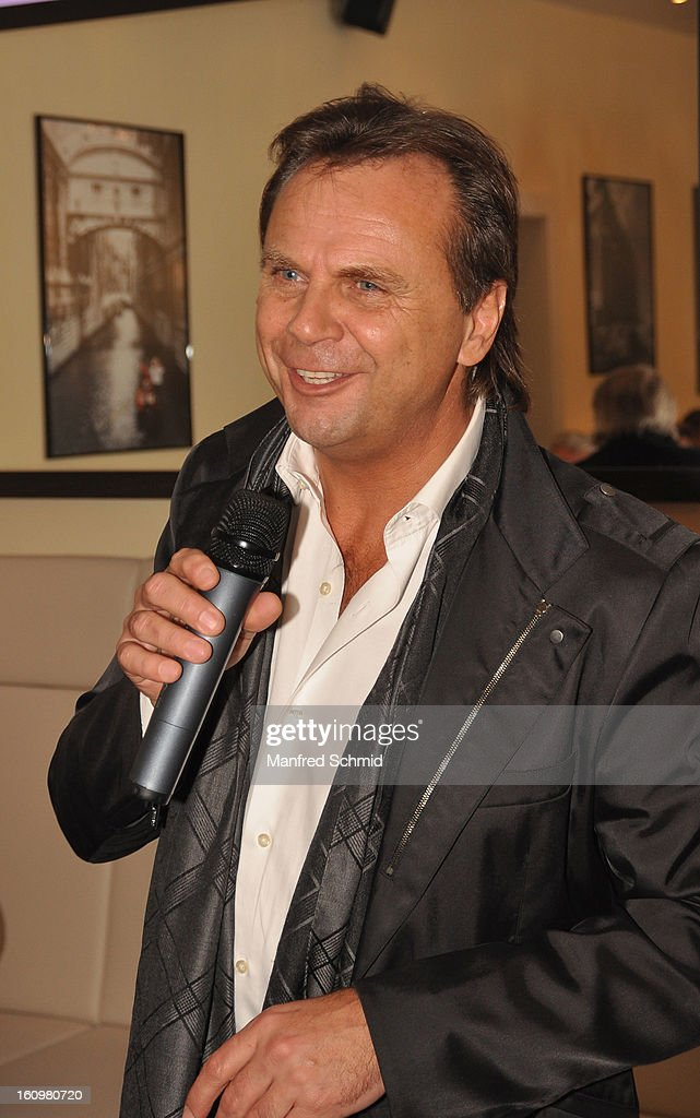 Joerg Wolf attends the 'Peter Rapp Show 50th Anniversary On Stage' press converence at Al Centro Vienna on February 8, 2013 in Vienna, Austria.