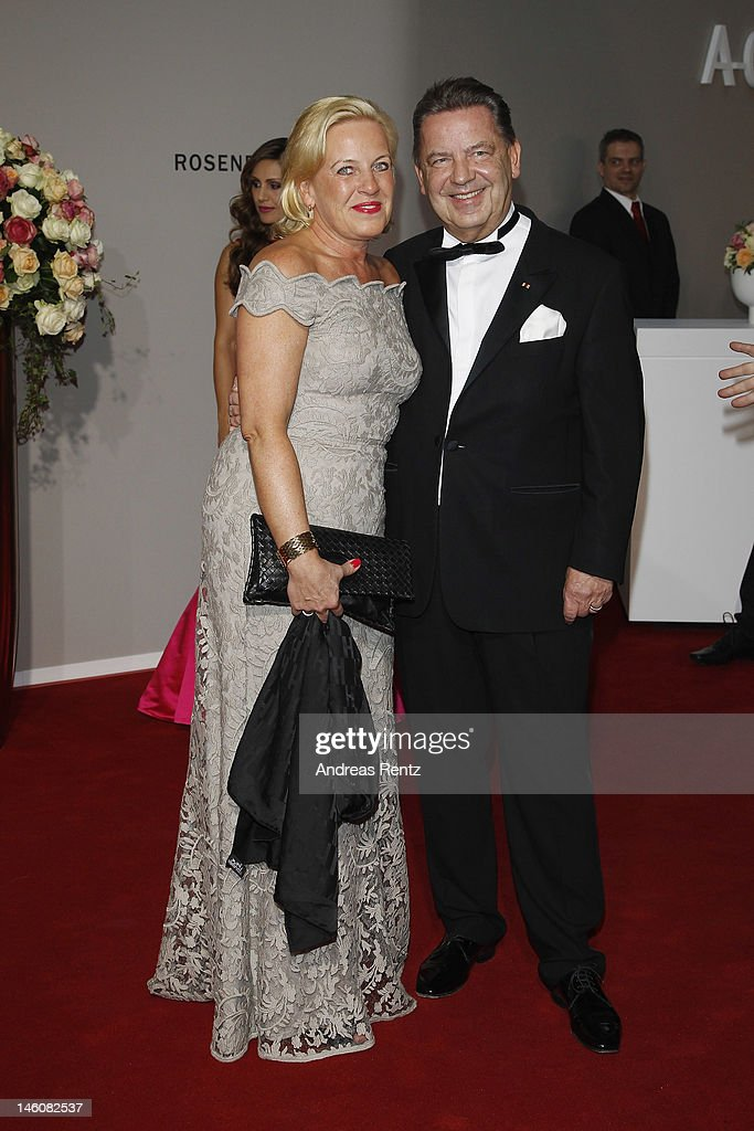 Joerg Woltmann and Kerstin Woltmann attend the Rosenball at Hotel Intercontinental on June 9, 2012 in Berlin, Germany.