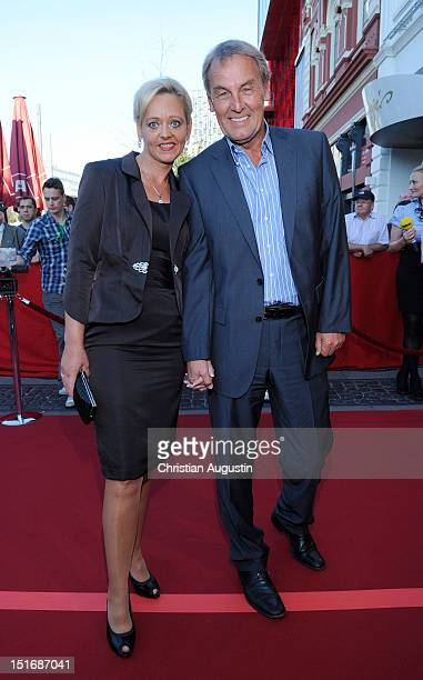 Joerg Wontorra and his wife Beate attend 'Tag der Legenden' at Schmidts Tivoli on September 9 2012 in Hamburg Germany