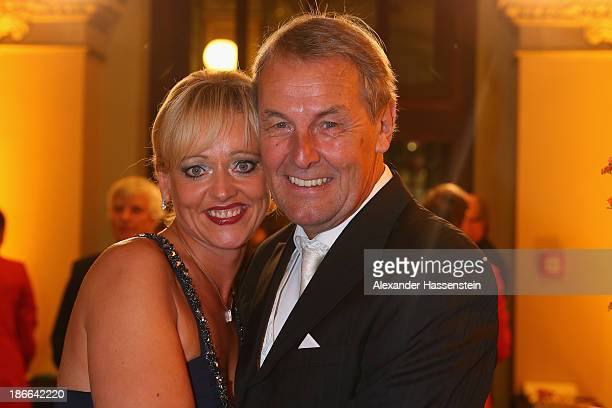 Joerg Wontorra attends with Heike Wontorra the 32 Sportpresseball at Alte Oper on November 2 2013 in Frankfurt am Main Germany