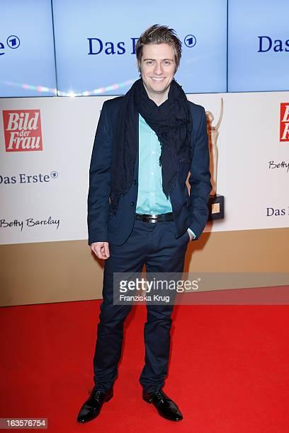 Joern Schloenvoigt attends 'Goldene Bild Der Frau' Award 2013 at the Axel Springer Haus on March 12 2013 in Berlin Germany