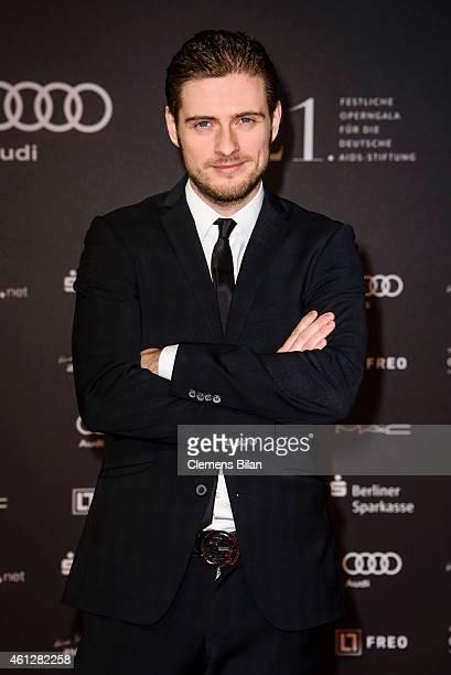 Joern Schloenvoigt attends the 21st Aids Gala at Deutsche Oper Berlin on January 10 2015 in Berlin Germany