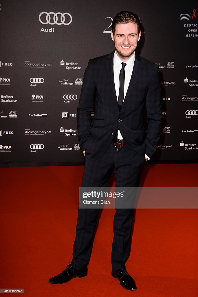 Joern Schloenvoigt attends the 21st Aids Gala at Deutsche Oper Berlin on January 10, 2015 in Berlin, Germany.