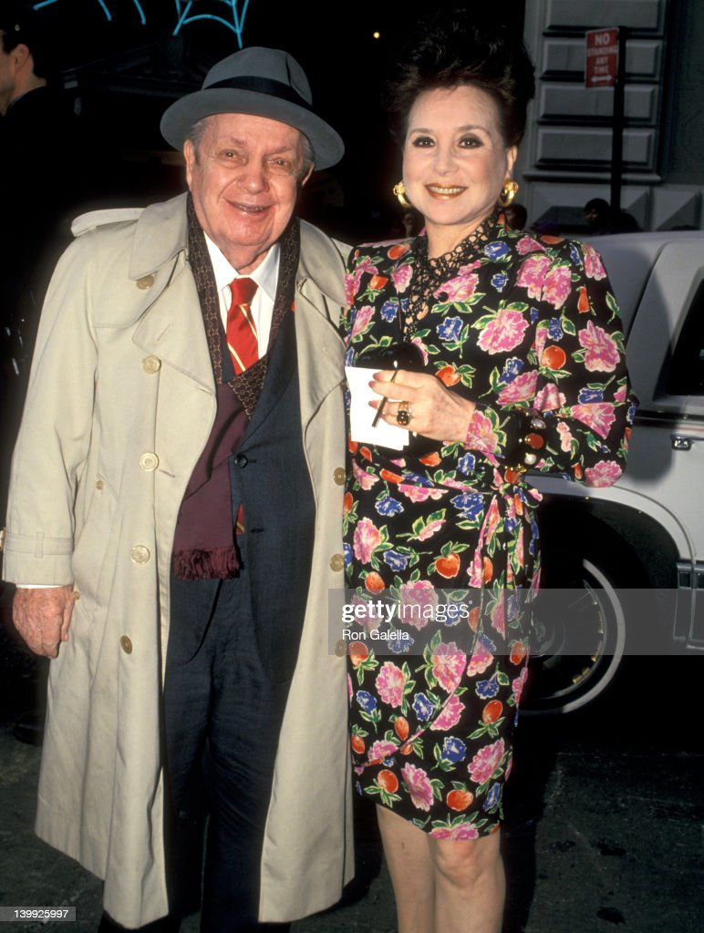 Joey Adams and Cindy Adams at the Opening Night of 'Sally Marrand her escorts' Helen Hayes Theatre New York City