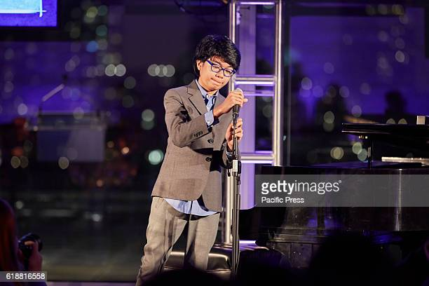 Joey Alexander during the Asia Game Changers 2016 Awards held at the United Nations Headquarters