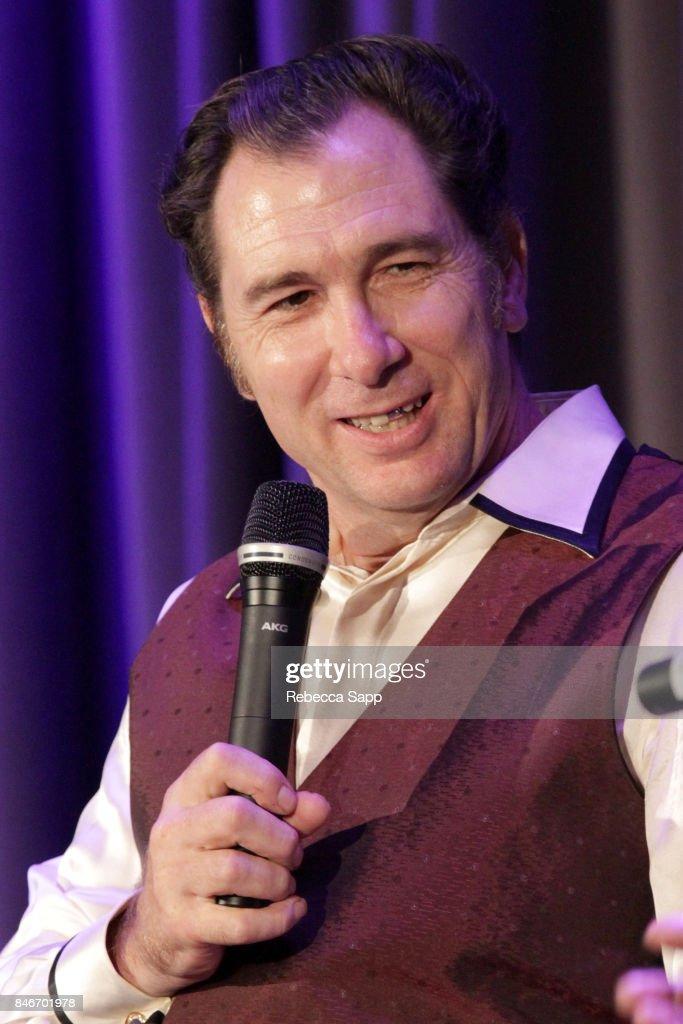 Joey Altruda speaks onstage at History of LA Ska at The GRAMMY Museum on September 13, 2017 in Los Angeles, California.