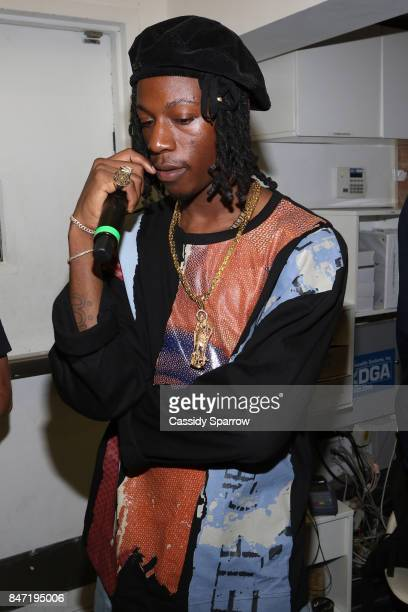 Joey Bada$$ attends The Baesline Launch Event on September 14 2017 in New York City
