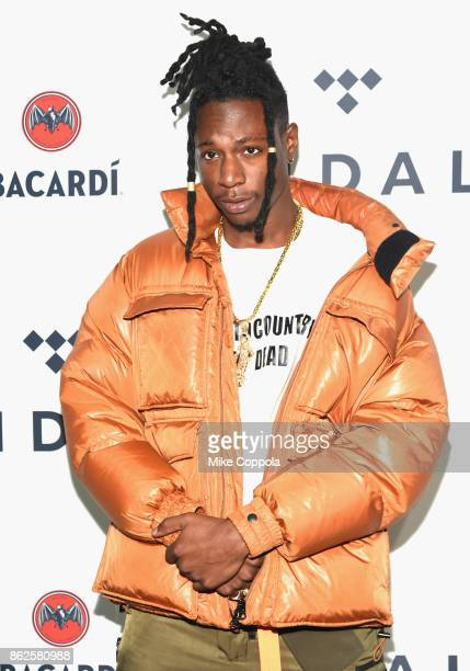 Joey Bada$$ attends TIDAL X Brooklyn at Barclays Center of Brooklyn on October 17 2017 in New York City