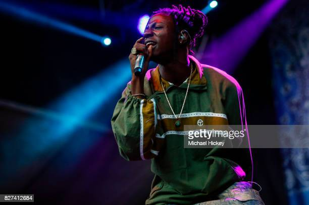 Joey Bada$$ performs at Grant Park on August 6 2017 in Chicago Illinois