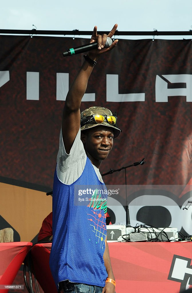 Joey Bada$$ performs during HOT 97 Summer Jam XX at MetLife Stadium on June 2, 2013 in East Rutherford, New Jersey.