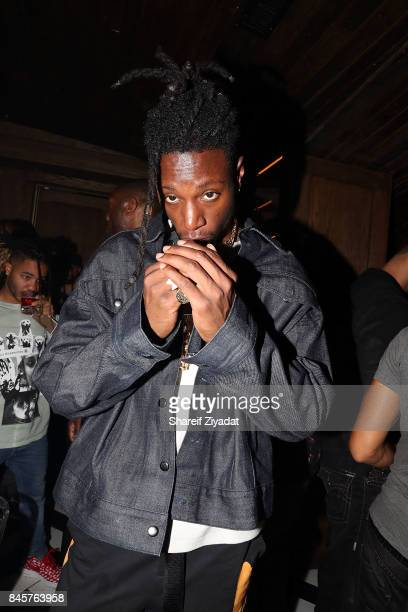 Joey Badass attends La Queen Smith After Party at 1OAK on September 10 2017 in New York City