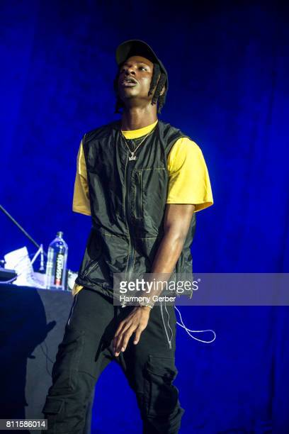 Joey Badass performs at The Greek Theatre on July 9 2017 in Los Angeles California