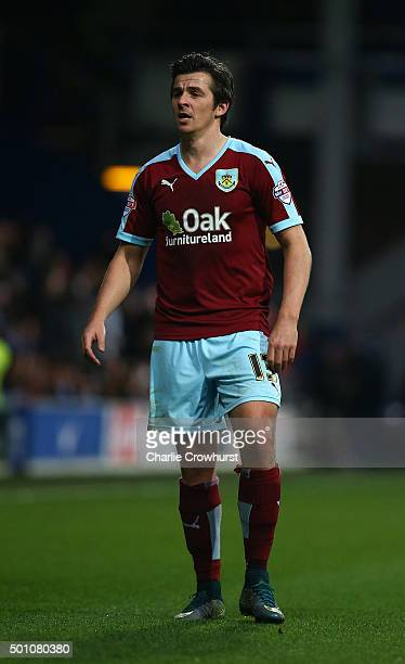 Joey Barton of Burnley during the Sky Bet Championship match between Queens Park Rangers and Burnley at Loftus Road on December 12 2015 in London...