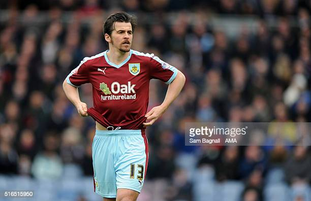 Joey Barton of Burnley during the Sky Bet Championship match between Burnley and Wolverhampton Wanderers at Turf Moor on March 19 2016 in Burnley...