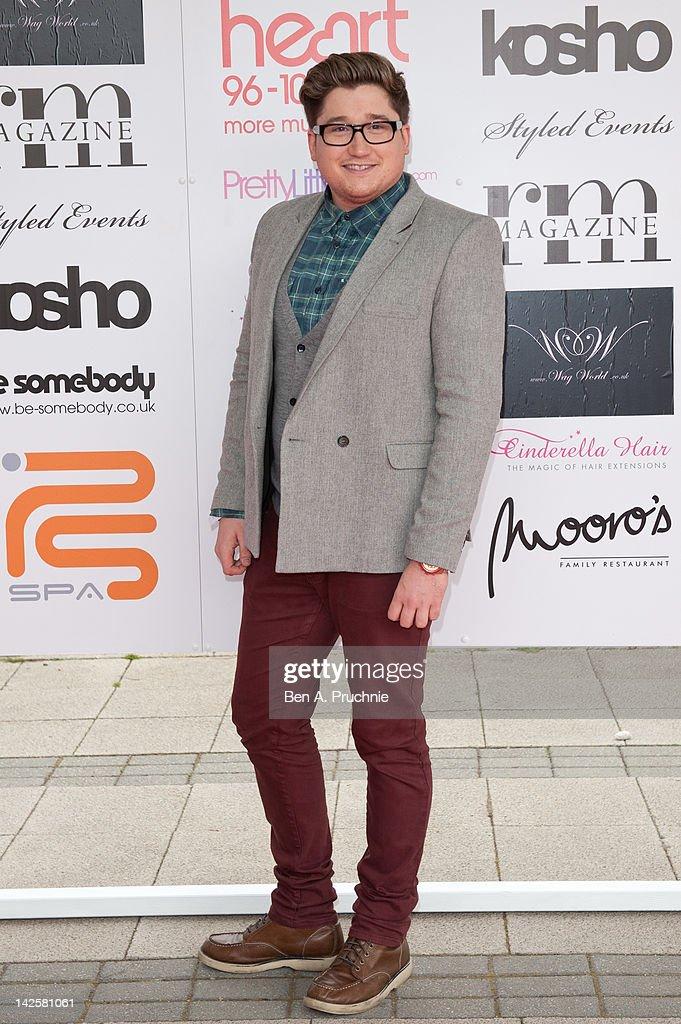 Joey Bevan attends Essex Fashion Week - Autumn/Winter 2012 at Ceme on April 8, 2012 in Rainham, Greater London.