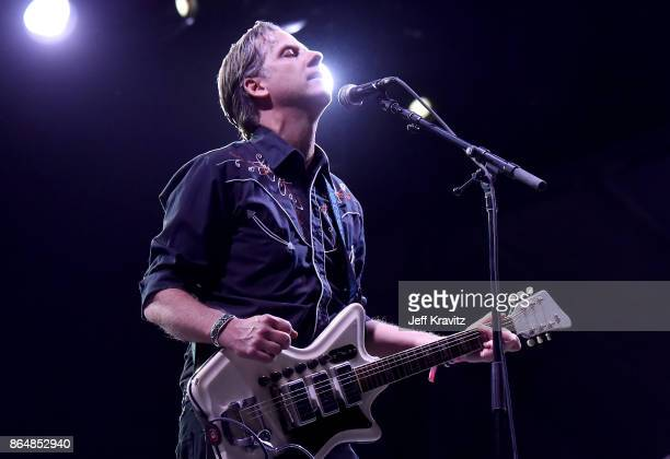 Joey Burns of Calexico performs during Soul Bugs Superjam The DapKings play The Beatles at Piestewa Stage during day 2 of the 2017 Lost Lake Festival...