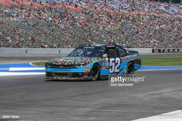 Joey Case drives off pit road during the My Bariatric Solutions NASCAR Xfinity Series race on April 8 2017 at Texas Motor Speedway in Fort Worth TX