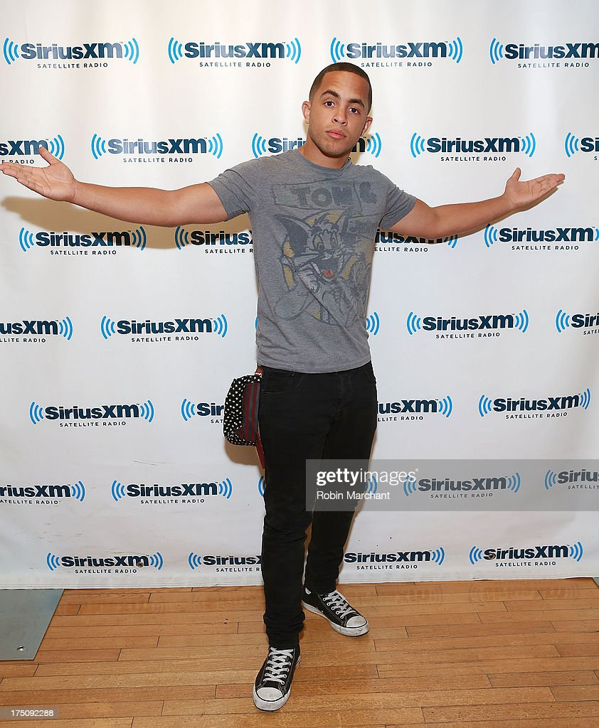 Joey Diggs Jr. of Midnight Red visits at SiriusXM Studios on July 31, 2013 in New York City.