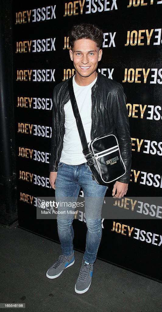 Joey Essex at the Sugar Hut Brentwood on April 4, 2013 in London, England.