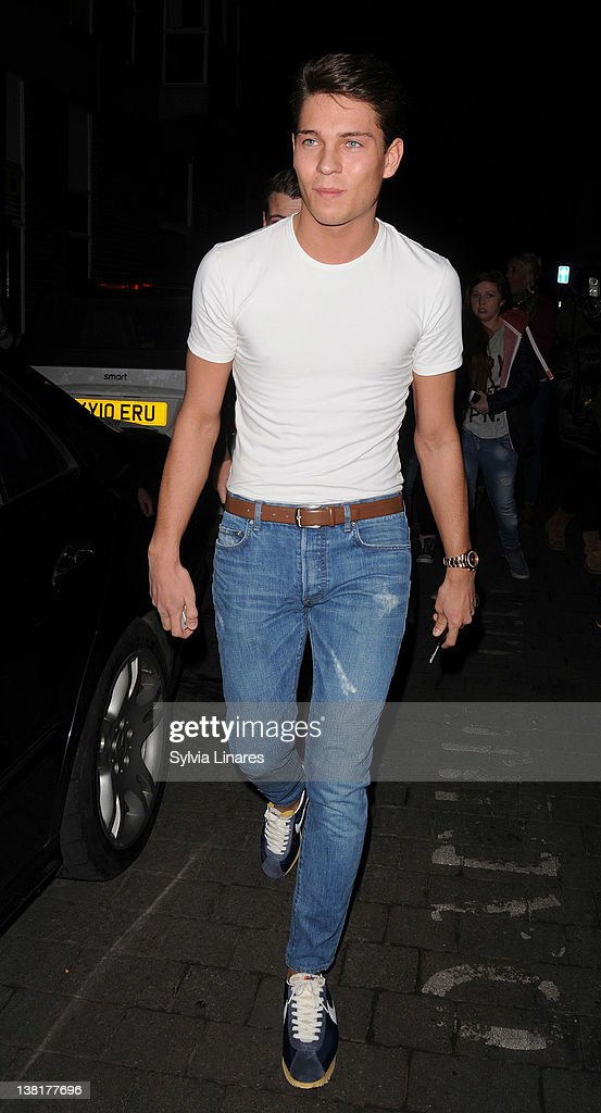 Joey Essex attends the Celebrity Big Brother 2012 reunion party at Sugar Hut on February 3, 2012 in London, England.