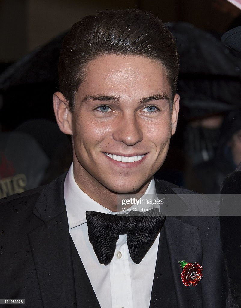 Joey Essex attends the Pride Of Britain awards at Grosvenor House, on October 29, 2012 in London, England.