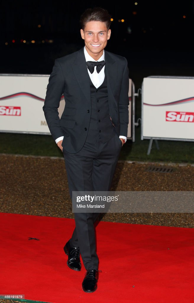 <a gi-track='captionPersonalityLinkClicked' href=/galleries/search?phrase=Joey+Essex&family=editorial&specificpeople=7737392 ng-click='$event.stopPropagation()'>Joey Essex</a> attends The Sun Military Awards at National Maritime Museum on December 11, 2013 in London, England.