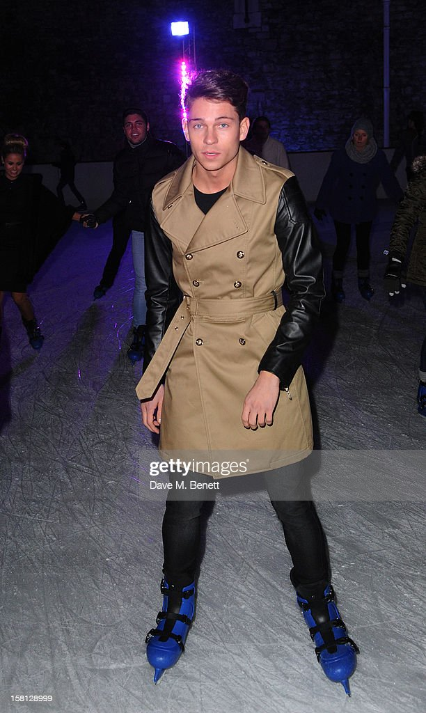 Joey Essex attends The UK's first Catwalk on Ice from Very.co.uk, held at the Tower of London Ice Rink, gave shoppers a more entertaining way to shop their Christmas outfits this season at Tower of London on December 10, 2012 in London, England.