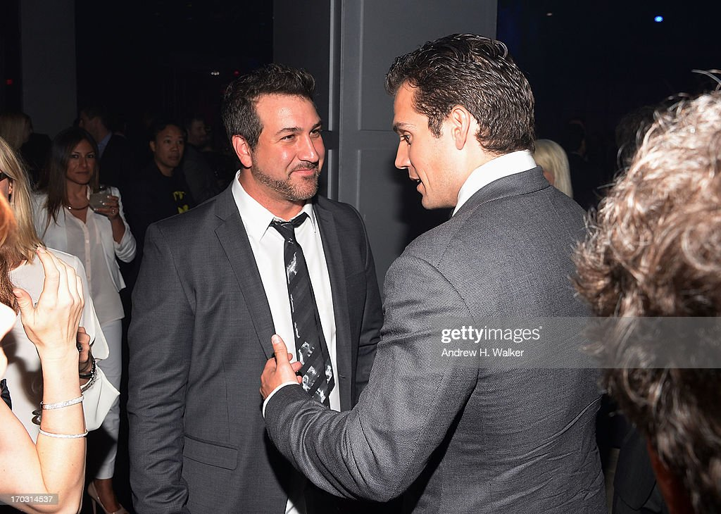 <a gi-track='captionPersonalityLinkClicked' href=/galleries/search?phrase=Joey+Fatone&family=editorial&specificpeople=204237 ng-click='$event.stopPropagation()'>Joey Fatone</a> and <a gi-track='captionPersonalityLinkClicked' href=/galleries/search?phrase=Henry+Cavill&family=editorial&specificpeople=3767741 ng-click='$event.stopPropagation()'>Henry Cavill</a> attend the 'Man Of Steel' world premiere after party at Skylight at Moynihan Station on June 10, 2013 in New York City.