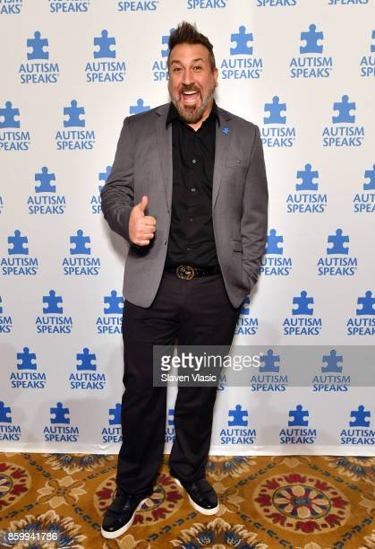 Joey Fatone attends Autism Speaks Celebrity Chef Gala on Wall Street at Cipriani Wall Street on October 10 2017 in New York City