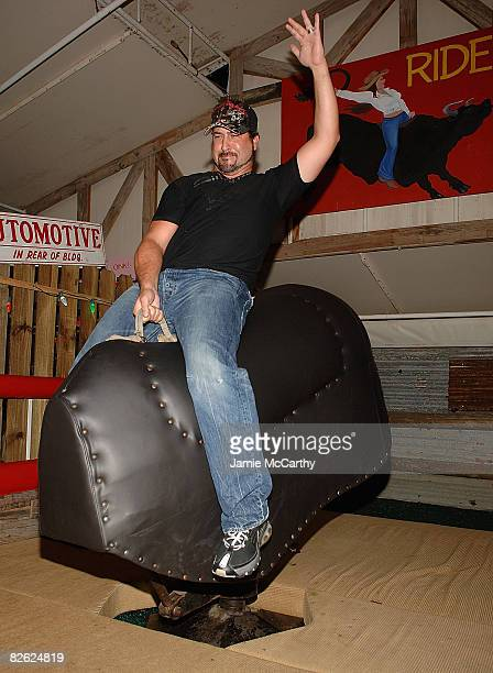 Joey Fatone attends the grand opening of Brother Jimmy's BBQ at the El San Juan Hotel and Casino on August 30 2008 in San Juan Puerto Rico
