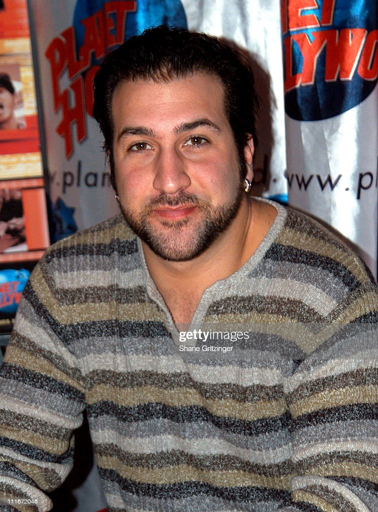 "Joey Fatone Signs Copies of *NSYNC's New DVD ""The Reel *NSYNC"""