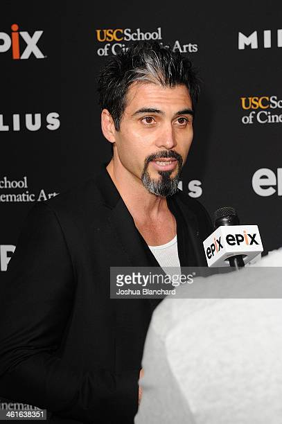 Joey Figueroa at EPIX USC Host An Evening With John Milius at USC Norris Theatre on January 9 2014 in Los Angeles California