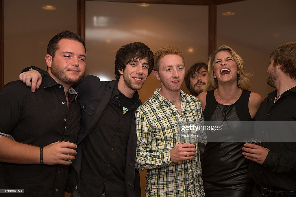 Cast members attend the School Of Rock 10-Year cast reception at Omni Downtown on August 29, 2013 in Austin, Texas.