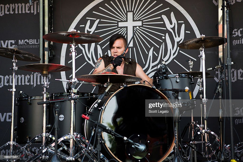 Joey Gibbs of Mindset Evolution performs during 2013 Rock On The Range at Columbus Crew Stadium on May 17, 2013 in Columbus, Ohio.