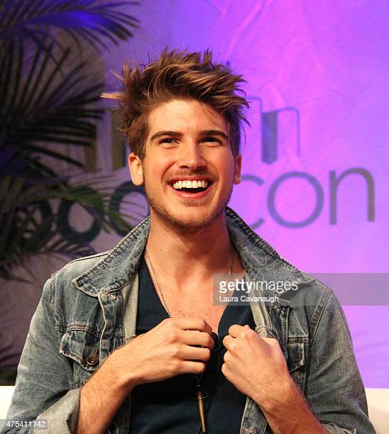 Joey Graceffa attends BookCon 2015 at Javits Center on May 31 2015 in New York City