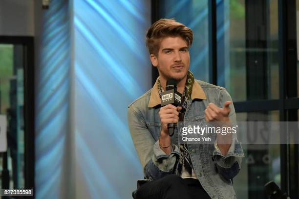 Joey Graceffa attends Build series to discuss 'Escape The Night' at Build Studio on August 7 2017 in New York City