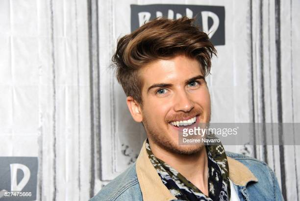 Joey Graceffa attends Build to discuss his hosting role in the YouTube Red Surreality Competition Series 'Escape The Night' at Build Studio on August...