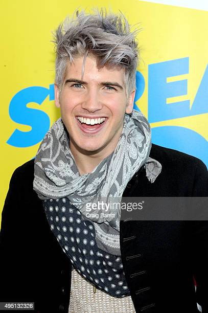 Joey Graceffa attends Stream Con NYC on October 31 2015 in New York City