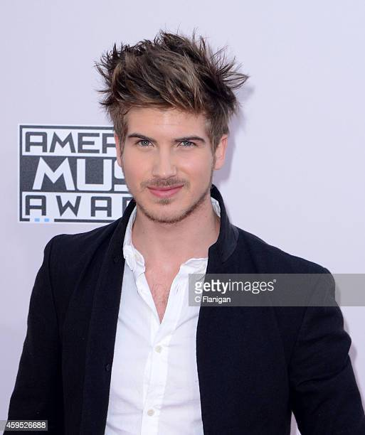 Joey Graceffa attends the 42nd Annual American Music Awards at Nokia Theatre LA Live on November 23 2014 in Los Angeles California