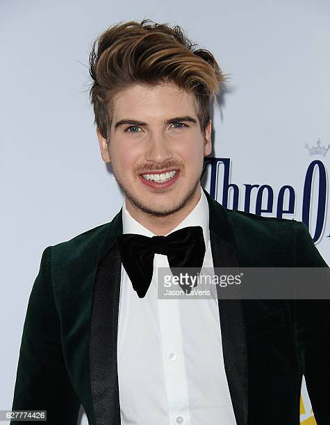 Joey Graceffa attends the TrevorLIVE Los Angeles 2016 fundraiser at The Beverly Hilton Hotel on December 4 2016 in Beverly Hills California