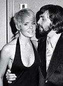 Joey Heatherton and guest during Joey Heatherton Opening September 12 1972 at Empire Room in New York City New York United States