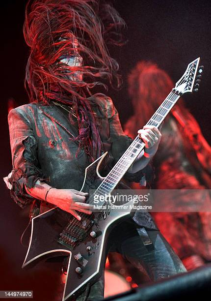 Joey Jordison of Murderdolls performs live on stage at Ozzfest on September 18 2010