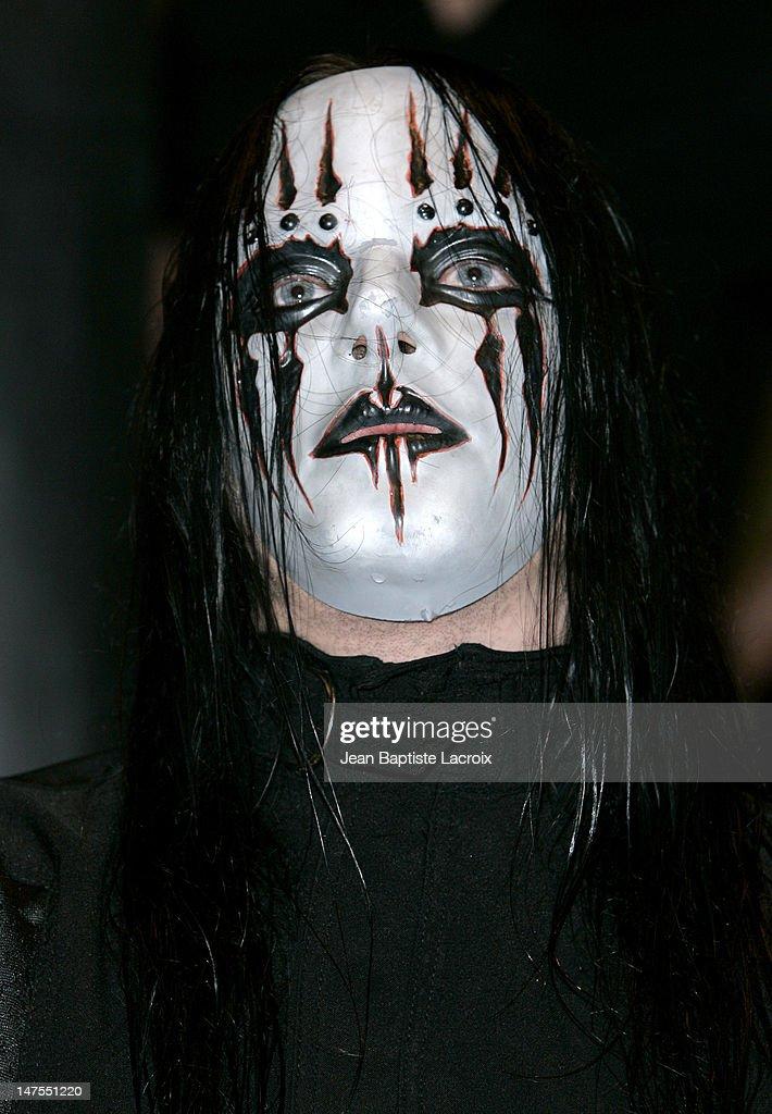 Joey Jordison of Slipknot during Slipknot In-Store Appearence At ...