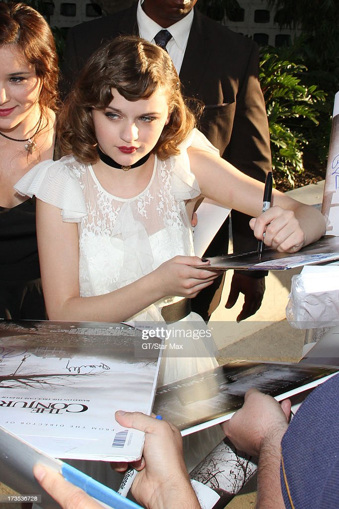 Joey King as seen on July 15, 2013 in Los Angeles, California.