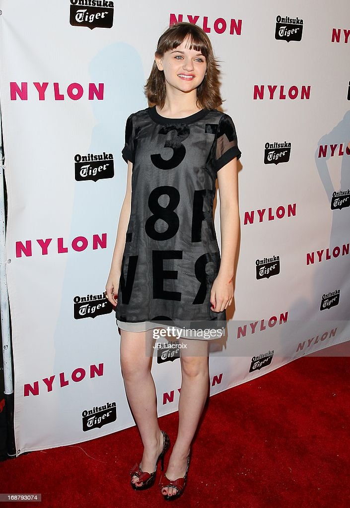 Joey King attends the NYLON Magazine Annual May Young Hollywood Issue Party at The Roosevelt Hotel on May 14, 2013 in Hollywood, California.