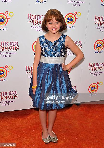 Joey King attends the premiere of 'Ramona and Beezus' in Madison Square Park on July 20 2010 in New York City