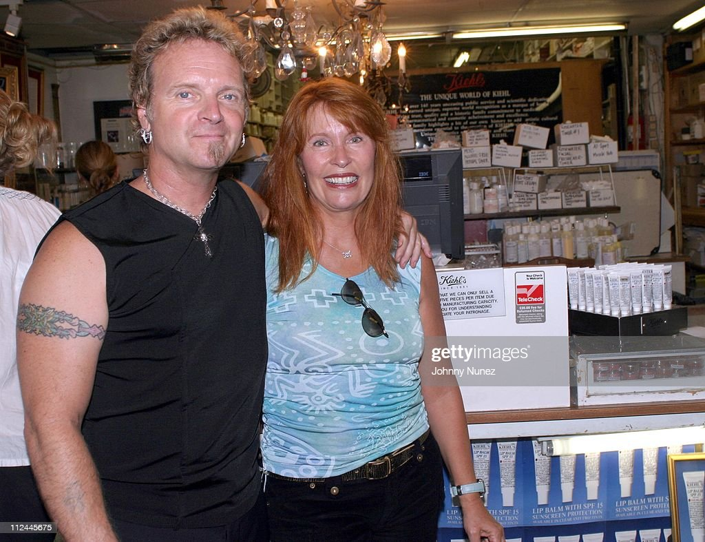 Joey Kramer and wife April Kramer during Joey Kramer in Store Appearence at 'Kiehl's' at Kiehl's Store in New York City New York United States