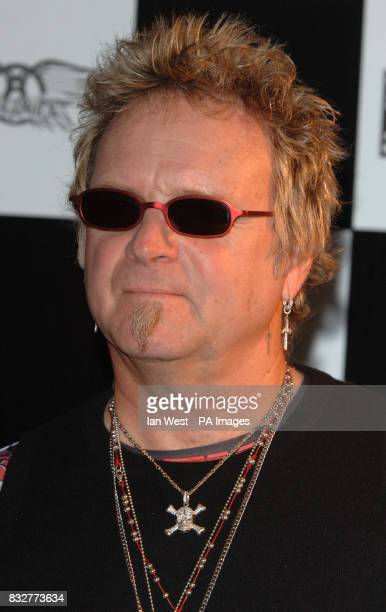 Joey Kramer of Aerosmith launches the Hyde Park Calling series of concerts at the Hard Rock Cafe in central London